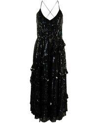 Temperley London - スパンコール Vネック ドレス - Lyst