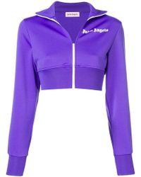 18795SI femmes Sweat shirt en violet Colmar en coloris