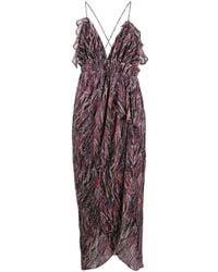 IRO - アブストラクトパターン ドレス - Lyst
