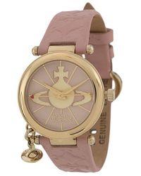 Vivienne Westwood Наручные Часы Orb Ii - Розовый