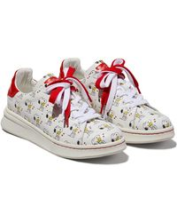Marc Jacobs X Peanuts The Tennis Shoe Trainers - Red