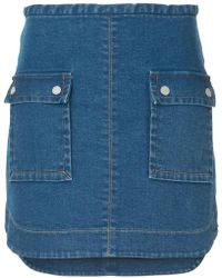 Manning Cartell - Major Key Denim Skirt - Lyst