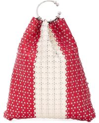 RED Valentino - Studded Bucket Tote - Lyst