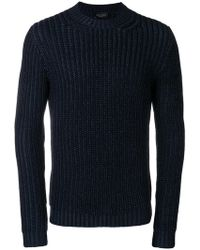 Roberto Collina - Ribbed Knit Jumper - Lyst