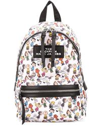 Marc Jacobs Рюкзак The Backpack Peanuts - Белый