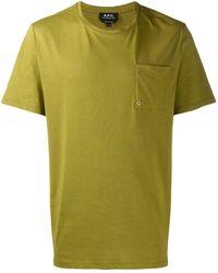 A.P.C. - ラウンドネック Tシャツ - Lyst