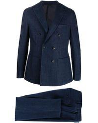 Eleventy ツーピーススーツ - ブルー
