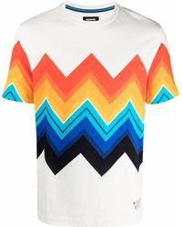 Missoni ジグザグプリント Tシャツ - ホワイト