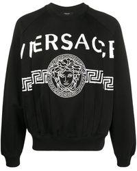 Versace メデューサ スウェットシャツ - ブラック