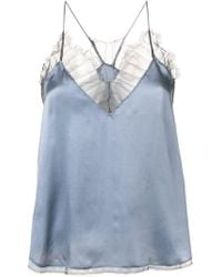 IRO - Lace Detail Top - Lyst