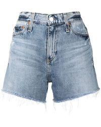 AG Jeans Short en jean - Bleu
