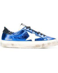 Golden Goose Deluxe Brand Superstar Sneakers - Blue
