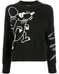 DIESEL Mouse ニットセーター - ブラック