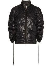 Moncler Sphene Quilted And Drawstring Jacket - Zwart