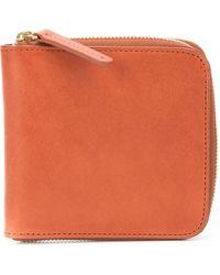 Mansur Gavriel Zip-around Wallet - オレンジ