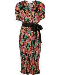 Diane von Furstenberg フローラル ラップドレス - マルチカラー