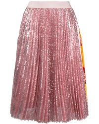 MSGM - スパンコール スカート - Lyst