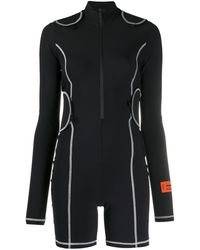 Heron Preston タッチストラップ ジャンプスーツ - ブラック
