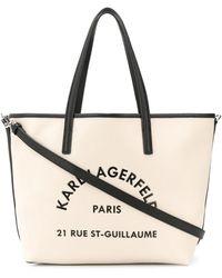 Karl Lagerfeld - Rue St Guillaume ハンドバッグ - Lyst