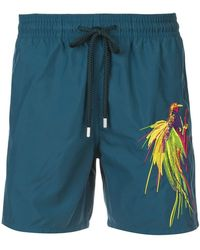 Vilebrequin - Embroidered Swim Shorts - Lyst