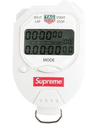 Supreme X Tag Heuer ストップウォッチ - ホワイト