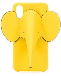 Loewe Elephant Iphone X/xs Case - Yellow