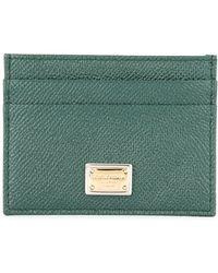 Dolce & Gabbana Dauphine Cardholder - Green