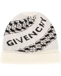 Givenchy ロゴ ビーニー - ホワイト