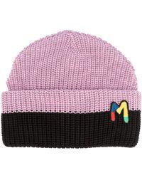 M Missoni Embroidered Logo Beanie - Multicolour