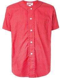 Supreme Cdg ベースボールシャツ - レッド