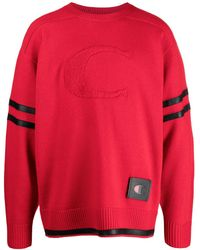 COACH X Champion Football Sweater - Red
