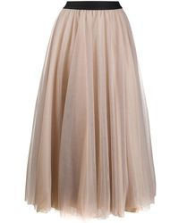 Blanca Vita Grazia Tulle Skirt - Multicolour