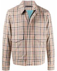 Paul Smith Куртка В Клетку - Многоцветный