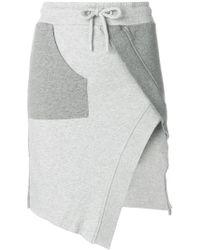 Each x Other | Track-style Asymmetric Skirt | Lyst