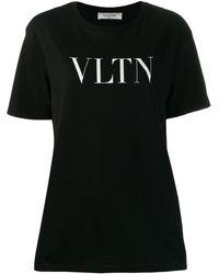 Valentino Vltn Tシャツ - ブラック