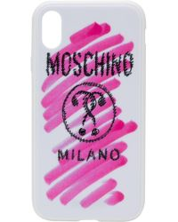 Moschino - Чехол Для Iphone Xr С Логотипом - Lyst