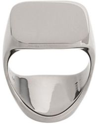 Maison Margiela - Squared Armour Ring - Lyst