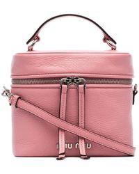 Miu Miu Madras Bucket Bag