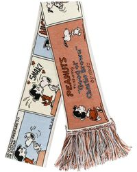 Marc Jacobs Snoopy スカーフ - マルチカラー