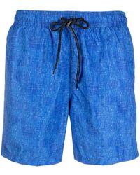 Drumohr トランクス水着 - ブルー