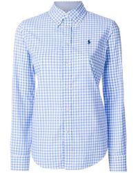Ralph Lauren | Checked Shirt | Lyst