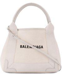 Balenciaga - ネイビー カバ ハンドバッグ Xs - Lyst