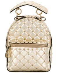 Valentino - Garavani Rockstud Spike Backpack - Lyst