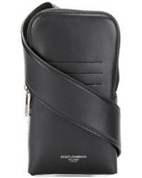 Dolce & Gabbana Handyhülle mit Schulterriemen - Schwarz