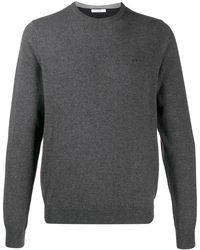 Sun 68 - Sweater Met Contrast - Lyst