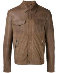 Eleventy | Shirt Jacket With Zip Pockets | Lyst