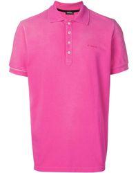 DIESEL ロゴ ポロシャツ - ピンク