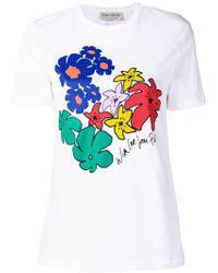 Être Cécile - Floral Print T-shirt - Lyst