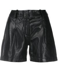 Arma High Waist Shorts - Zwart