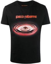 Paco Rabanne グラフィック Tシャツ - ブラック